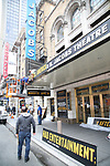 Theatre Marquee installation for Denzel Washington starring in  in 'Eugene O'Neill's The Iceman Cometh' at the  Bernard B. Jacobs Theatre on October 3, 2017 in New York City.