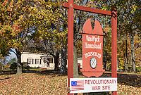Van Wyck Homestead Museum, Fishkill, New York, USA