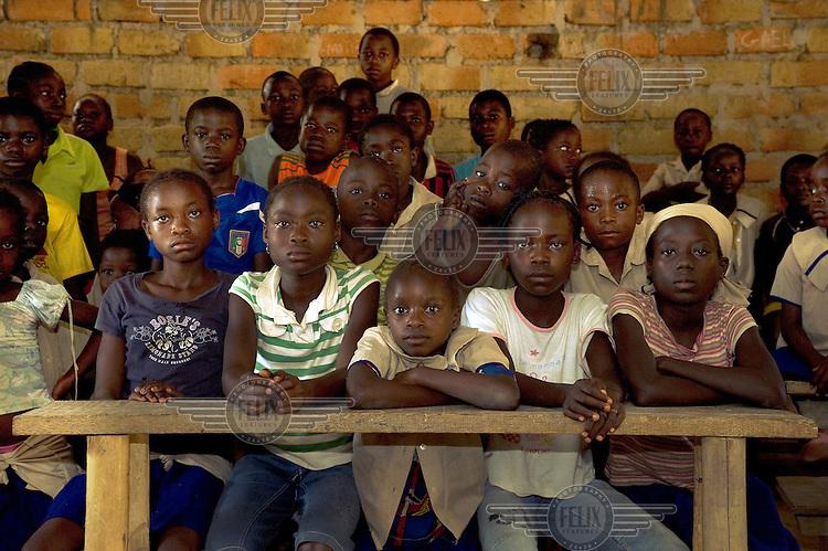Pupils of at Leweme School.