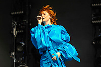 LONDON, ENGLAND - JULY 7: Alison Goldfrapp of 'Goldfrapp' performing at British Summer Time, Hyde Park on July 7, 2018 in London, England.<br /> CAP/MAR<br /> &copy;MAR/Capital Pictures