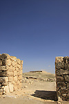 Israel, Negev. Tel Arad national park