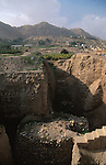 """Palestinian territories, Jordan Valley, Tel Jericho or Tell es-Sultan the """"oldest city in the world"""""""