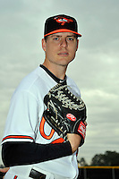 Feb 27, 2010; Tampa, FL, USA; Baltimore Orioles  pitcher Chris George (75) during  photoday at Ed Smith Stadium. Mandatory Credit: Tomasso De Rosa
