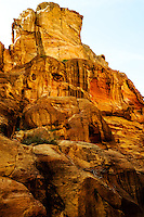 Petra is Jordan's most visited tourist attraction. al-Siq is the main entrance to the ancient city.