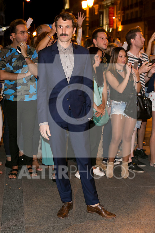 Julian Villagran attends the party of Nike and Roberto Tisci at the Casino in Madrid, Spain. September 15, 2014. (ALTERPHOTOS/Carlos Dafonte)