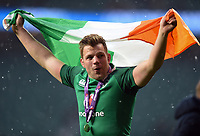 Jordi Murphy of Ireland celebrates the win after the match. Natwest 6 Nations match between England and Ireland on March 17, 2018 at Twickenham Stadium in London, England. Photo by: Patrick Khachfe / Onside Images