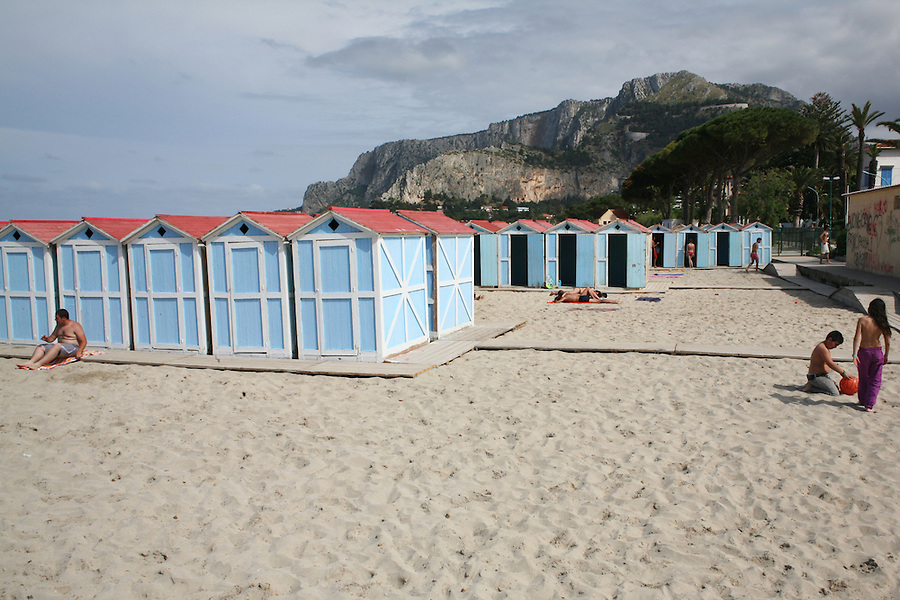 Beach resort  and nature reserve in Sicily, Italy