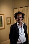 © 2010  David Burnett .Contact Press Images.Dinaw Mengestu, writer of The Beautiful Things That Heaven Brings