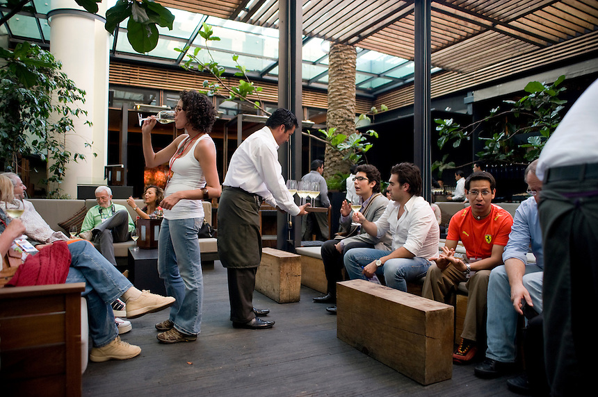 Chef Paola Garduño's Cafe O2, Santa Fe.Aromas y Sabores with Chef Patricia Quintana, Mexico City, Mexico