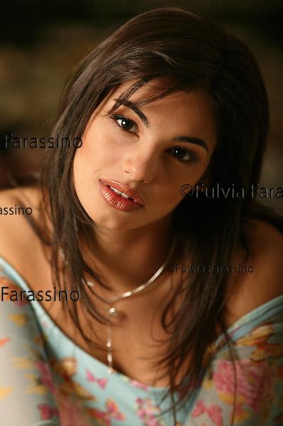 Roma, Francesca Chillemi .Miss Italia 2003