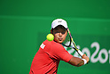 Takuya Miki (JPN),<br /> SEPTEMBER 12, 2016 - Wheelchair Tennis : <br /> Men's Singles Takuya Miki 2-1 Maikel Scheffers <br /> at Olympic Tennis Centre<br /> during the Rio 2016 Paralympic Games in Rio de Janeiro, Brazil.<br /> (Photo by AFLO SPORT)
