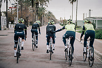 Team Trek-Segafredo women's team<br /> training camp<br /> Mallorca, january 2019<br /> <br /> &copy;kramon
