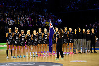 International Netball Constellation Cup - NZ Silver Fans v Australia Diamonds at TSB Bank Arena, Wellington, New Zealand on Thursday 18 October  2018. <br /> Photo by Masanori Udagawa. <br /> www.photowellington.photoshelter.com