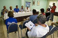Rueda de prensa y presentación de la regata .LXVI CAMPEONATO DE ESPAÑA DE PATÍN A VELA, Club de Vela la Dehesa del 26 al 29 de Agosto de 2009