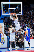 Real Madrid's Gustavo Ayón during Euroleague match at Barclaycard Center in Madrid. April 07, 2016. (ALTERPHOTOS/Borja B.Hojas) /NortePhoto