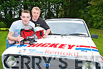 Killarney father and son team, Charlie and Johnny Hickey are looking forward to the Kenmare Historic Stages Rally in December.