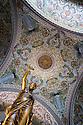 21/08/16 - AIX LES BAINS - SAVOIE - FRANCE - Architecture thermale a Aix les Bains. Mosaiques sur la coupole du Casino - Photo Jerome CHABANNE