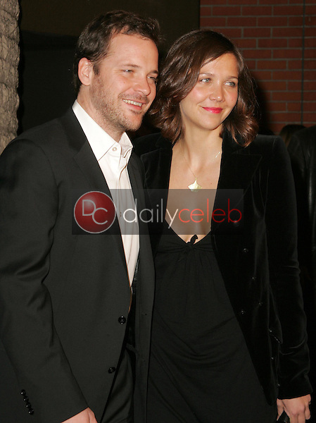 """Maggie Gyllenhaal and Peter Sarsgaard<br />at the premiere of """"Brokeback Mountain"""". Mann National Theatre, Westwood, CA. 11-29-05<br />Dave Edwards/DailyCeleb.com 818-249-4998"""