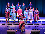 The Discovery Gospel Choir performing at the Gospel Gathering in the TLT. Photo:Colin Bell/pressphotos.ie