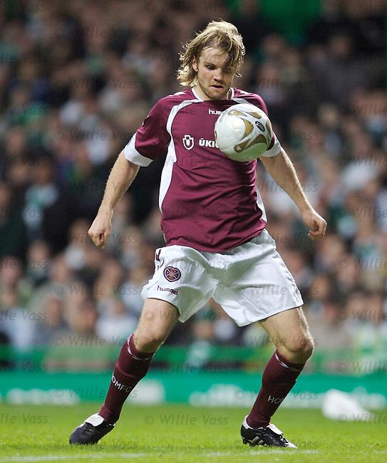 Robbie Neilson, Hearts.stock season 2006-2007.pic willie vass