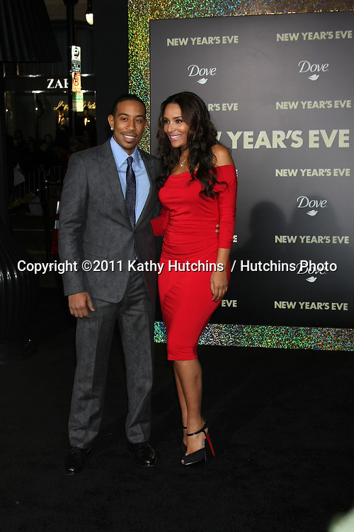 """LOS ANGELES - DEC 5:  Chris Bridges aka Ludacris arrives at the """"New Year's Eve"""" World Premiere at Graumans Chinese Theater on December 5, 2011 in Los Angeles, CA"""