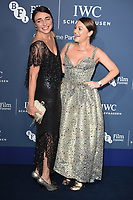 LONDON, UK. October 09, 2018: Lois &amp; Jaime Winstone arriving for the 2018 IWC Schaffhausen Gala Dinner in Honour of the BFI at the Electric Light Station, London.<br /> Picture: Steve Vas/Featureflash