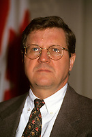 Oct 1994  file photo - Lloyd Axworthy,<br /> <br /> Lloyd Norman Axworthy, PC, OC, OM (born December 21, 1939, in North Battleford, Saskatchewan) is prominent Canadian politician and statesman from Manitoba. He is best known for having served as Minister of Foreign Affairs under Canadian Prime Minister Jean Chr&Egrave;tien. Axworthy is currently President of the University of Winnipeg.