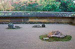 Asia, Japan, Kyoto, Ryoanji Temple,  Rock Garden