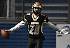 Tom von Bargen #20 of Wantagh reacts after catching a pass for a touchdown in the fourth quarter of the Nassau County football Conference III semifinals against South Side Shuart Stadium in Hempstead on Saturday, Nov. 10, 2018.