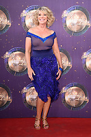 Ruth Langsford at the launch of the new series of &quot;Strictly Come Dancing&quot; at New Broadcasting House, London, UK. <br /> 28 August  2017<br /> Picture: Steve Vas/Featureflash/SilverHub 0208 004 5359 sales@silverhubmedia.com
