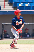 Short Stop Sam Tuivailala the of the Gulf Coast League Cardinals during the game at Space Coast Stadium in Viera, Florida July 11 2010. Tuivailala was the St. Louis Cardinals 3rd round pick (103rd overall) of the 2010 MLB Draft. Photo By Scott Jontes/Four Seam Images