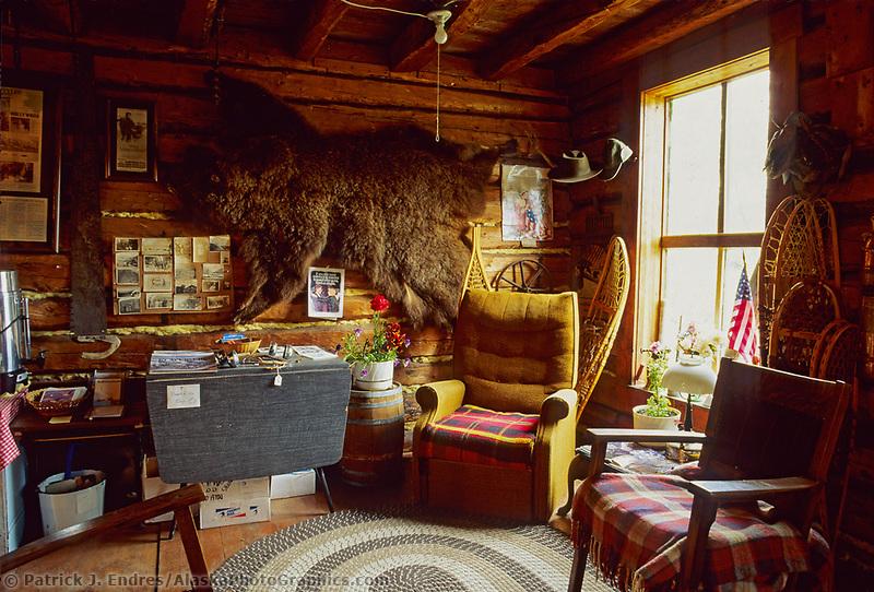 Wiseman Trading Post, James Dalton Highway, Brooks range, Wiseman, Alaska.