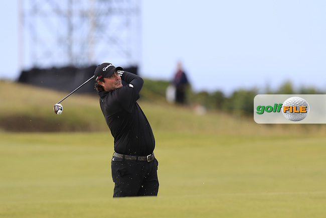 Steven Bowditch (AUS) in action on the 14th hole during Sunday's Round 3 of the 144th Open Championship, St Andrews Old Course, St Andrews, Fife, Scotland. 19/07/2015.<br /> Picture Eoin Clarke, www.golffile.ie