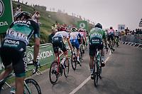 Peter Sagan (SVK/Bora-Hansgrohe) in the grupetto up the last climb of the 2018 Tour: the Col d'Aubisque (HC/1709m/16.6km@4.9%)<br /> <br /> Stage 19: Lourdes > Laruns (200km)<br /> <br /> 105th Tour de France 2018<br /> ©kramon