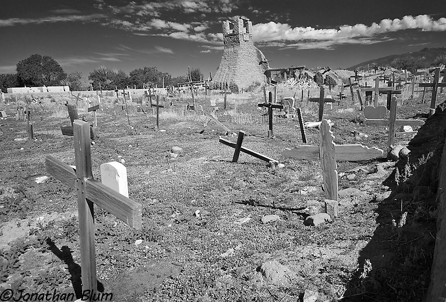 Field of Crosses, Taos Pueblo