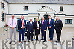 Minister Heather Humphries at the official opening of Killarney House and Gardens on Monday l-r: Harry O'Donoghue, Ned O'Keeffe, Sen Paul Coughlan, Minister Heather Humphries, Former Minister Jimmy Deenihan, Minister Brendan griffin and Pat Dawson