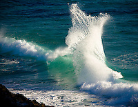 Backwash at Snapper Rocks, Coolangatta at the southern end of Queenslands Gold Coast, Australia.  Photo: Joli