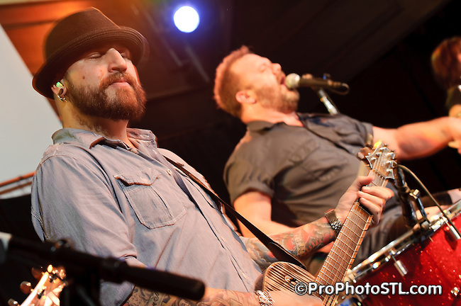 Cowboy Mouth in concert at Old Rock House on Feb 25, 2011.