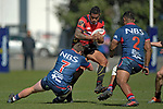 NELSON, NEW ZEALAND - SEPTEMBER 7: Tasman Mako B v Canterbury B. Trafalgar Park, Nelson, New Zealand. Saturday 7 September 2019. (Photos by Barry Whitnall/Shuttersport Limited)