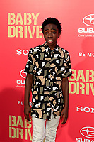 "LOS ANGELES - JUN 14:  Caleb McLaughlin at the ""Baby Driver"" Premiere at the The Theater at Ace Hotel on June 14, 2017 in Los Angeles, CA"