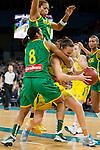 VNL Match North East Blaze v Geelong Cougars 16/06/2012Basketball-Australia (Opals ) v Brazil 24-06-2012.Spalding.Photo: Grant Treeby