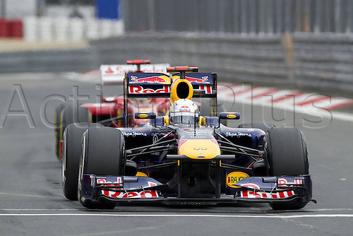22 07 2011  Sebastian Vettel ger Red Bull Racing  2011 Formula 1 grand Prix from Germany at Nuerburgring Nuerburg Germany