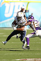 09/11/11 San Diego, CA: San Diego Chargers running back Jacob Hester #22 during an NFL game played at Qualcomm Stadium between the San Diego Chargers and the Minnesota Vikings. The Chargers defeated the Vikings 24-17.