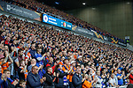 19.09.2019 Rangers v Feyenoord: Rangers fans applause on 2nd minute for Fernando Ricksen
