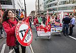 BRUSSELS - BELGIUM - 20 September 2016 -- Anti TTIP and CETA demonstration. -- PHOTO: Juha ROININEN / EUP-IMAGES