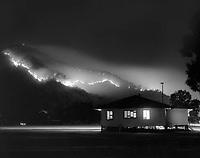 Aeroglen Hillslope Fire