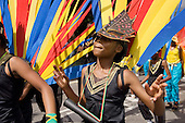 Paddington Arts and Elimu mas band on Children's Day at Notting Hill Carnival