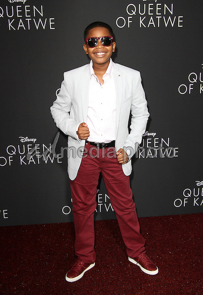 "20 September 2016 - Hollywood, California - Brandon Severs. ""Queen Of Katwe"" Los Angeles Premiere held at the El Capitan Theater in Hollywood. Photo Credit: AdMedia"
