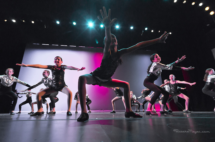 "Tuesday Rehearsal, 3D Project Jazz Company ""X"", 10th Annual Spring Showcase, Cary Arts Center, Cary, North Carolina."