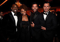BEVERLY HILLS - JANUARY 7: Sterling K. Brown, Ryan Michelle Bathe, Ricky Martin attend the 2018 Fox Nominee Party for the 75th Annual Golden Globe Awards at the Fox Terrace on the Roof Deck of the Beverly Hilton on January 7, 2018, in Beverly Hills, California. (Photo by Frank Micelotta/Fox/PictureGroup)